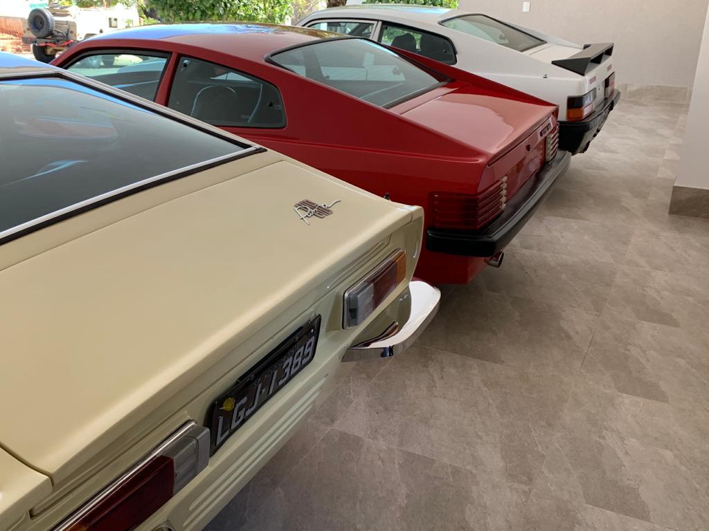 PUMAS GTB-1974 (BEGE) / AMV-1989 (BRANCO) / GTB S2-1979 (VERMELHO)