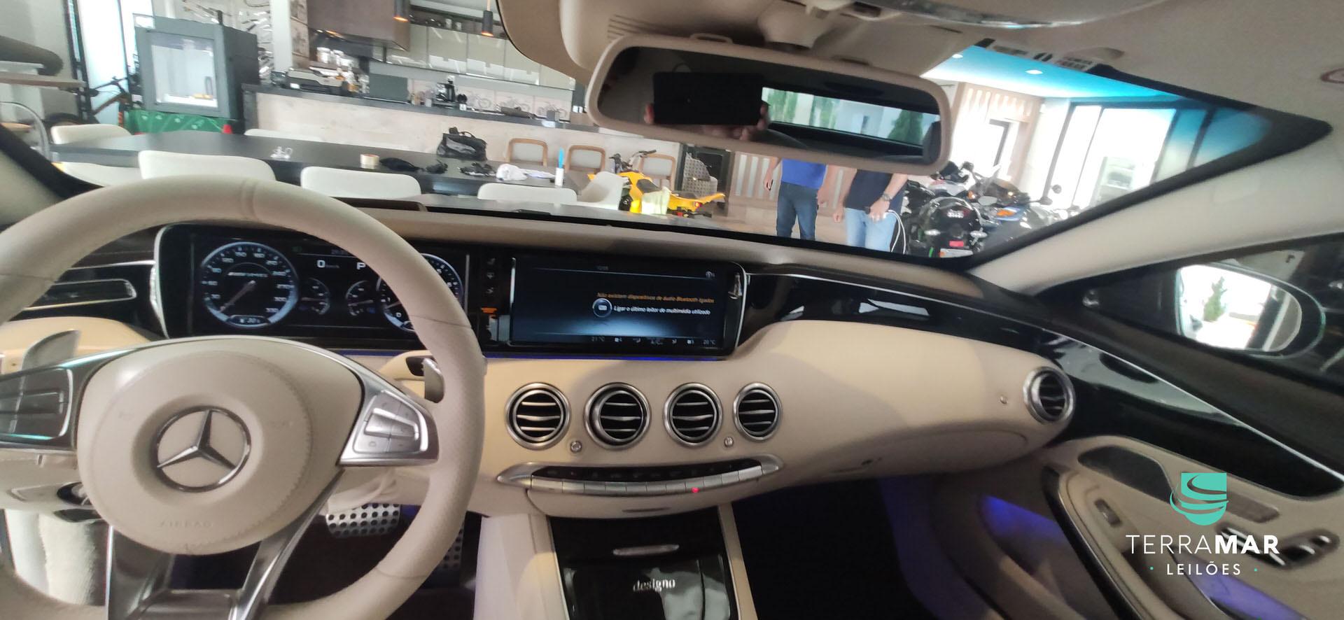 MERCEDES BENZ S63 AMG BLINDADA