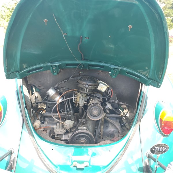 VW FUSCA 1200 (PROJETO) - 1964
