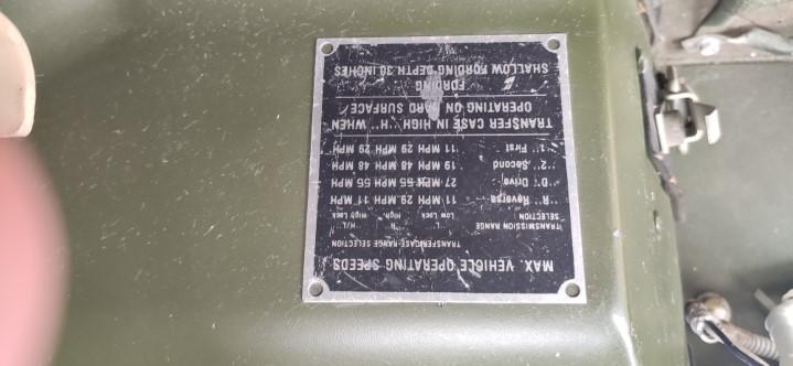 HUMVEE M1025 - 1987
